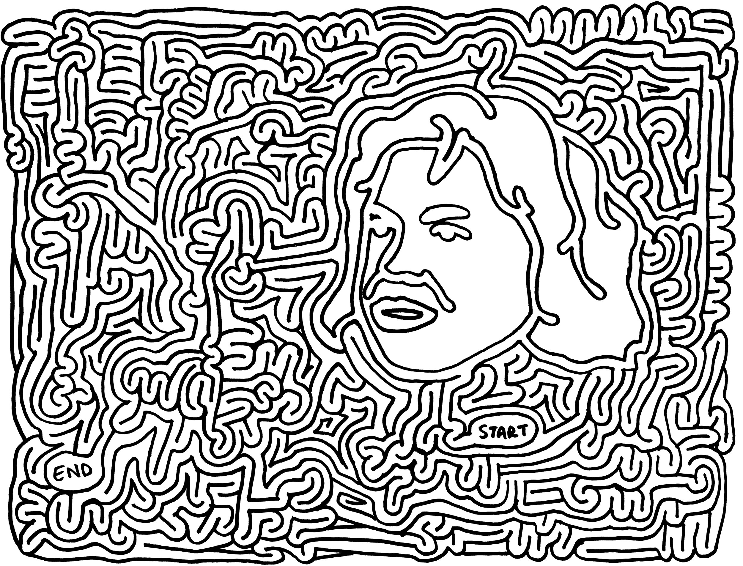 mazes harry potter by Eric