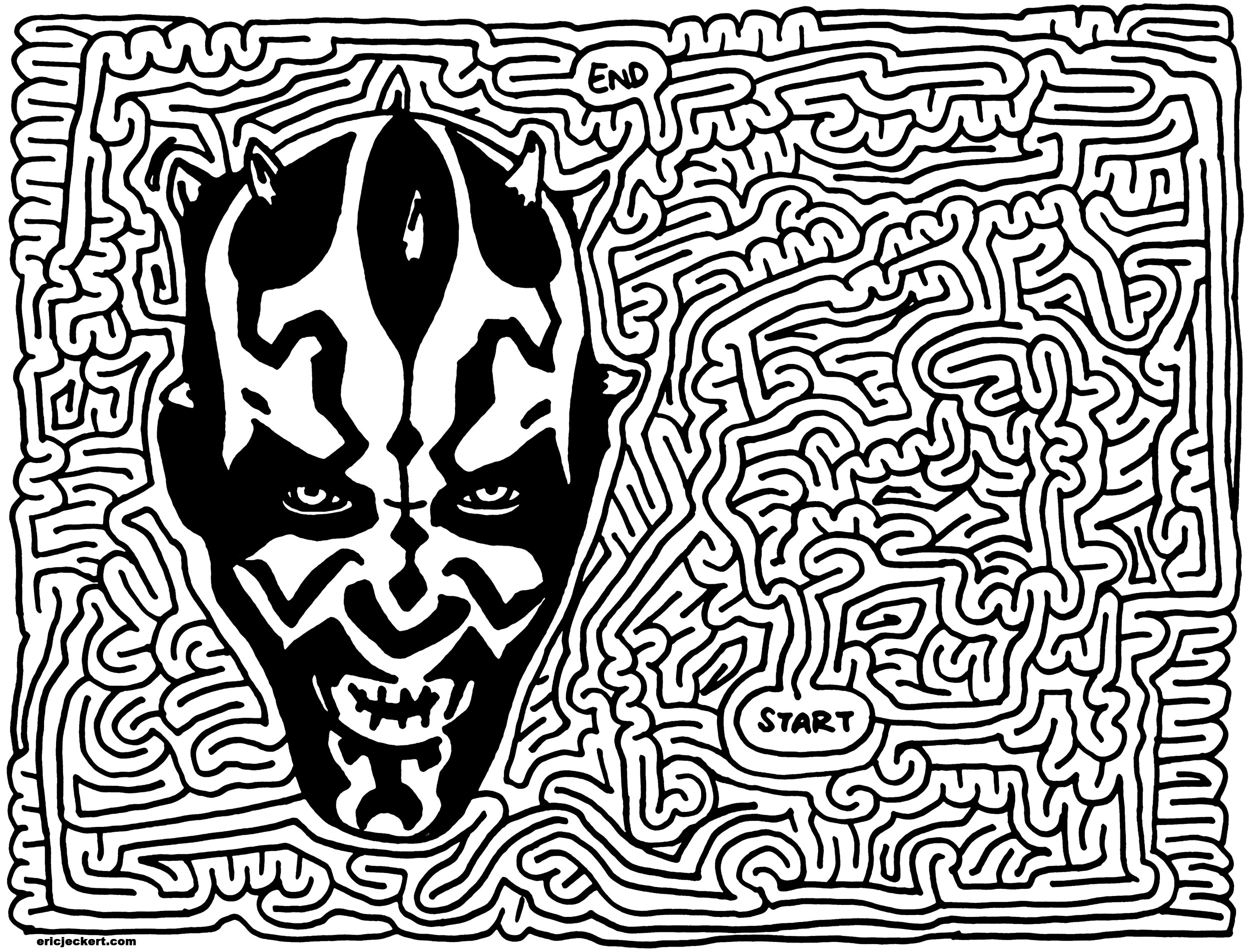 Ray Price Ford >> mazes » star wars - by Eric J Eckert