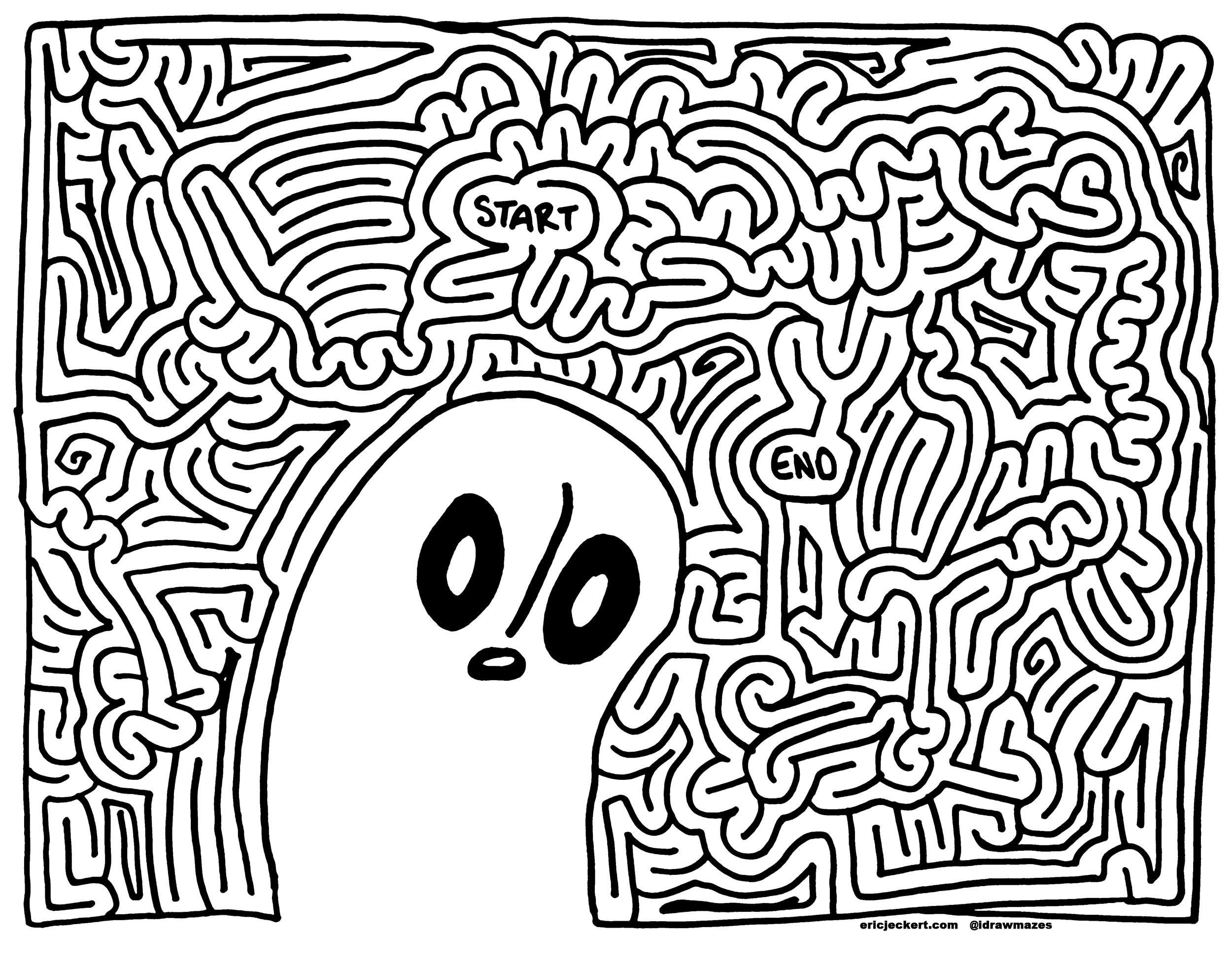 Mazes 187 Video Games By Eric J Eckert